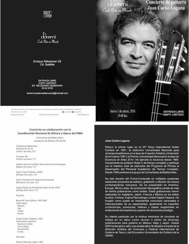 Concierto de Guitarra - Juan Carlos Laguna